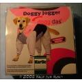 Hunde Overall diggidas Rot Grau 35cm