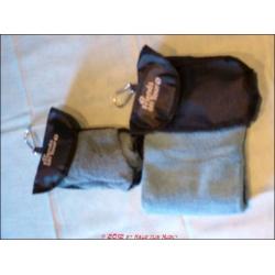 Handtuch aus Mikrofaser mit Tasche
