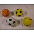 Ball aus Moosgummi