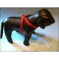 Geschirr für kleine Hunde, 20 mm,Grösse XL (40 cm)