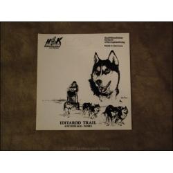 """Aufkleber """"Husky Iditarod Trail"""""""