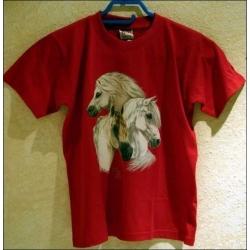 """T-Shirt mit Druck """"Welsch Pony"""", Gr. XL"""