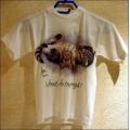 """T-Shirt mit Druck """"Katze mit Teddy"""", Gr. 140"""