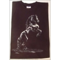 """T-Shirt mit Druck """"steigender Friese"""", Gr. XL"""