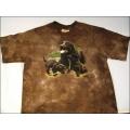 """T-Shirt Batik """"Labrador Collage"""" Gr.XL (164-176)"""