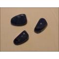 Blauquarz  Heilstein gebohrt in Tropfenform