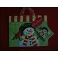 """Tragetasche """"Winter Friends"""" inkl. Geschenkkarte und Seidenpapier"""