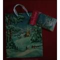 """Tragetasche """"Winter Wonderland"""" inkl. Geschenkkarte und Seidenpapier"""