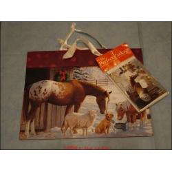 """Tragetasche """"Frieds at Home Auslauf"""" inkl. Geschenkkarte und Seidenpapier"""