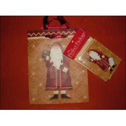 """Tragetasche """"Faather Frost"""" inkl. Geschenkkarte und Seidenpapier"""